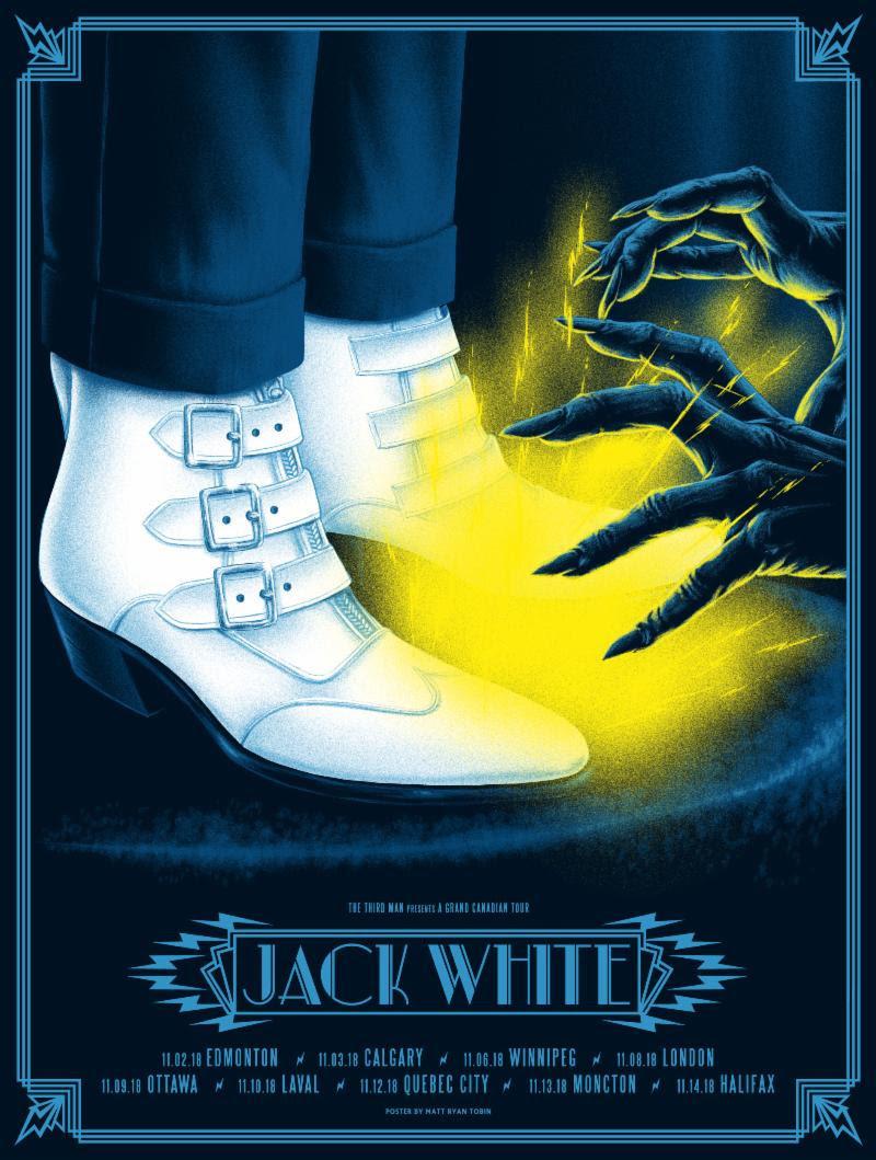 jack white canadian tour Jack White announces Boarding House Reach Canadian tour