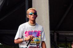 Jaden Smith, Lollapalooza 2018, photo by Caroline Daniel