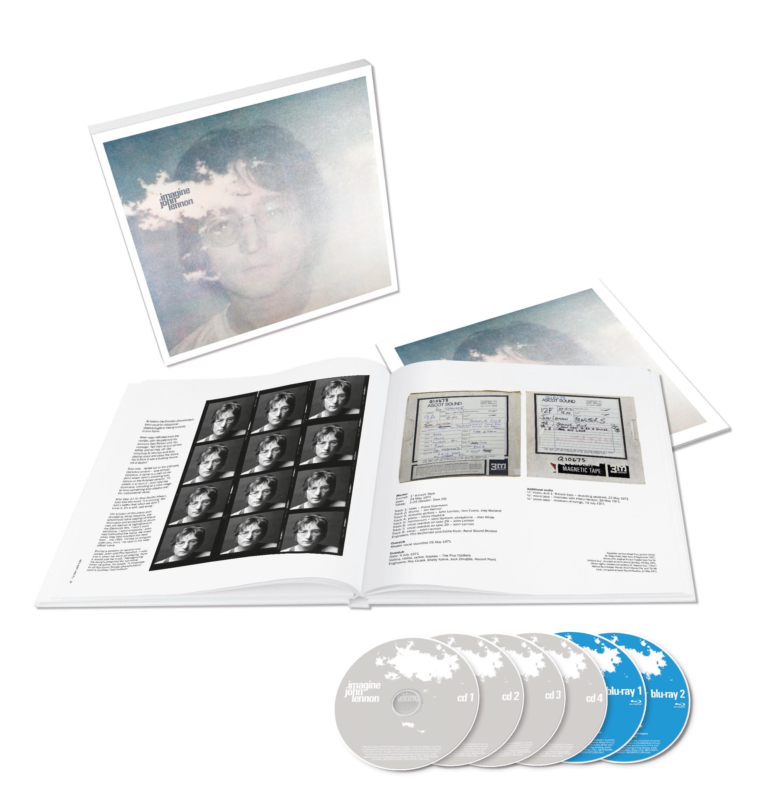 John Lennon Imagine Deluxe Box Set Ultimate Collection Reissue