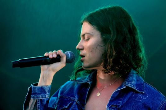 BØRNS, Lollapalooza 2018, photo by Heather Kaplan