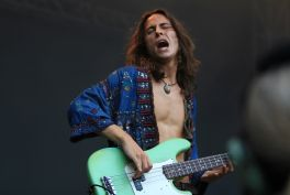 Greta Van Fleet, Lollapalooza 2018, photo by Heather Kaplan