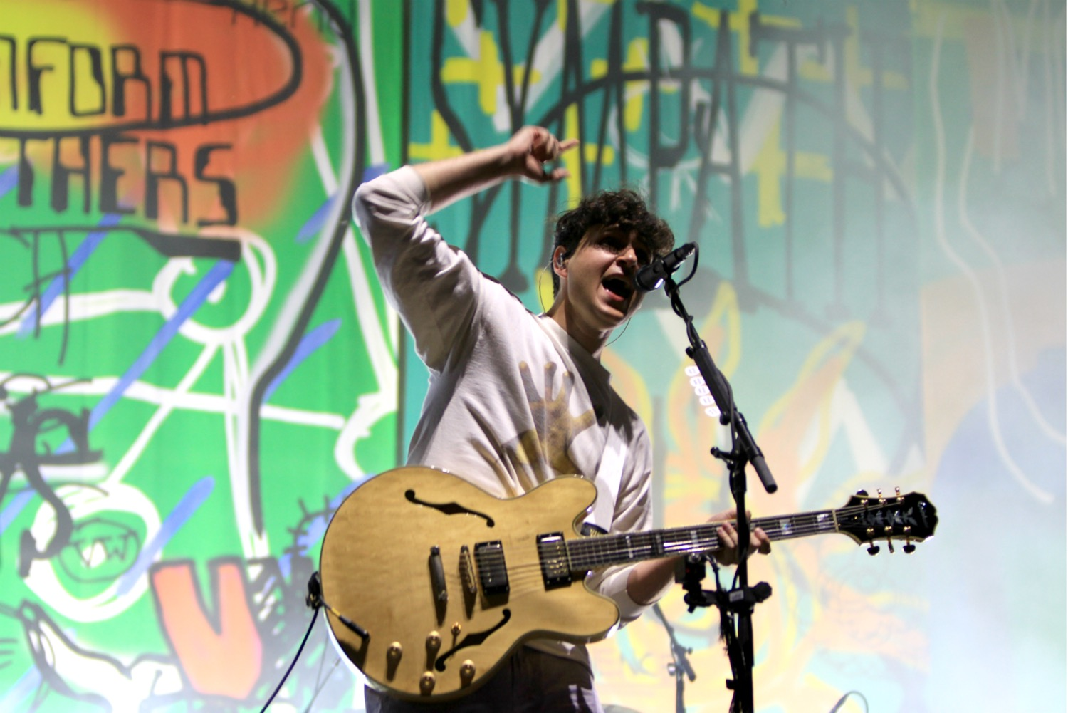 Vampire Weekend, Lollapalooza 2018, photo by Heather Kaplan