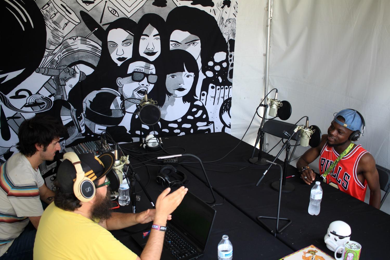 Femdot, Lollapalooza 2018, photo by Heather Kaplan