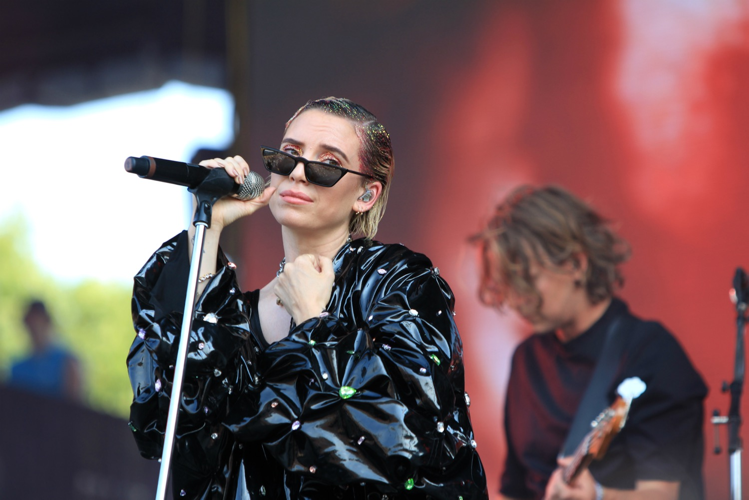Lykke Li, Lollapalooza 2018, photo by Heather Kaplan