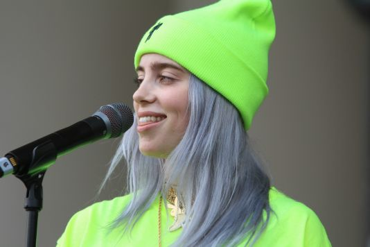 Billie Eilish, Lollapalooza 2018, photo by Heather Kaplan
