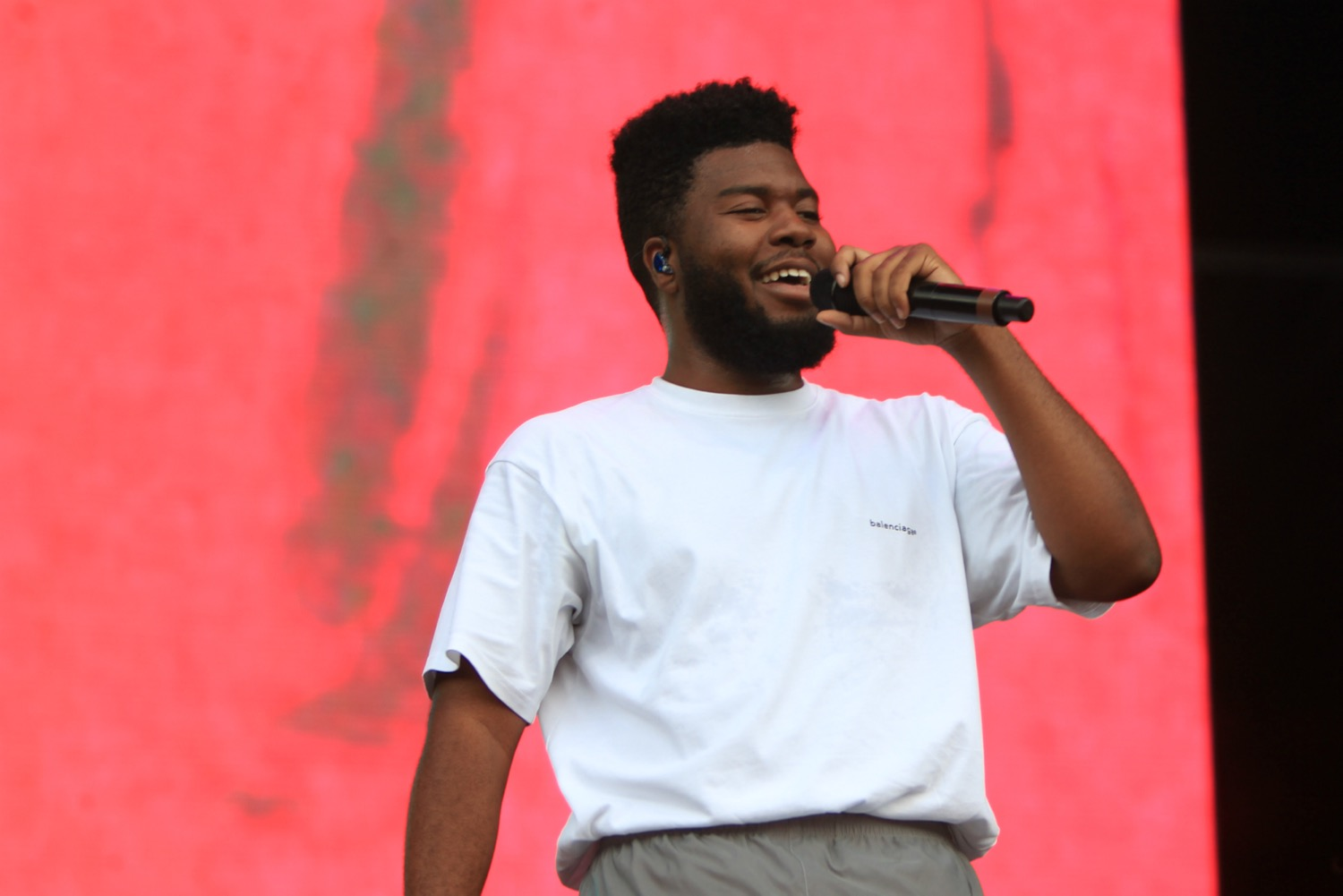 Khalid, Lollapalooza 2018, photo by Heather Kaplan