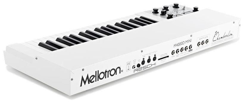 mellotron keyboard white