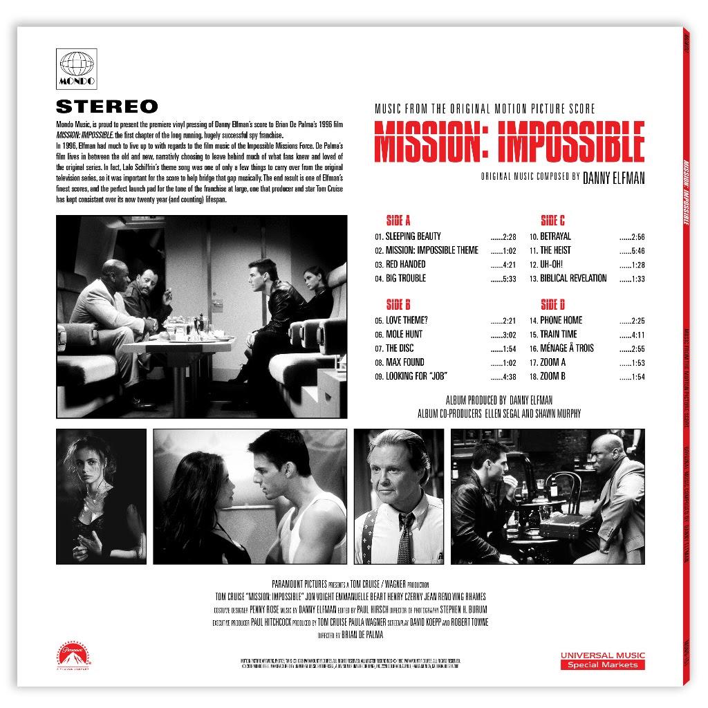 Mission: Impossible, Mondo
