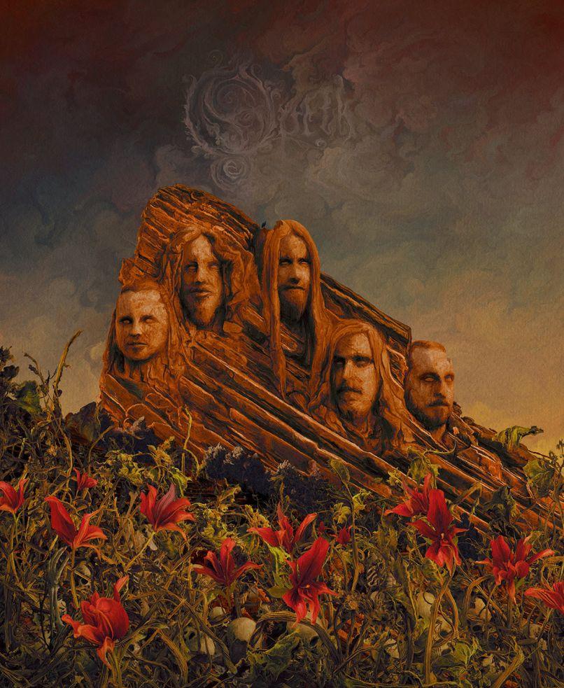 Opeth Garden of the Titans artwork