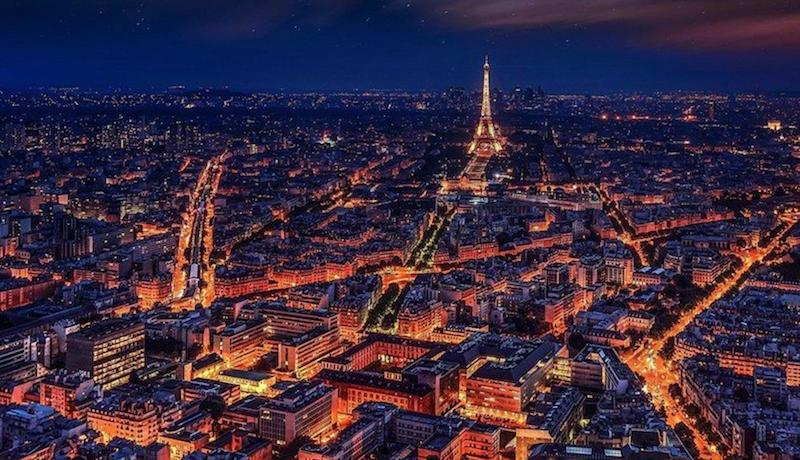 Paris Lights Night Devotchka empty vessels