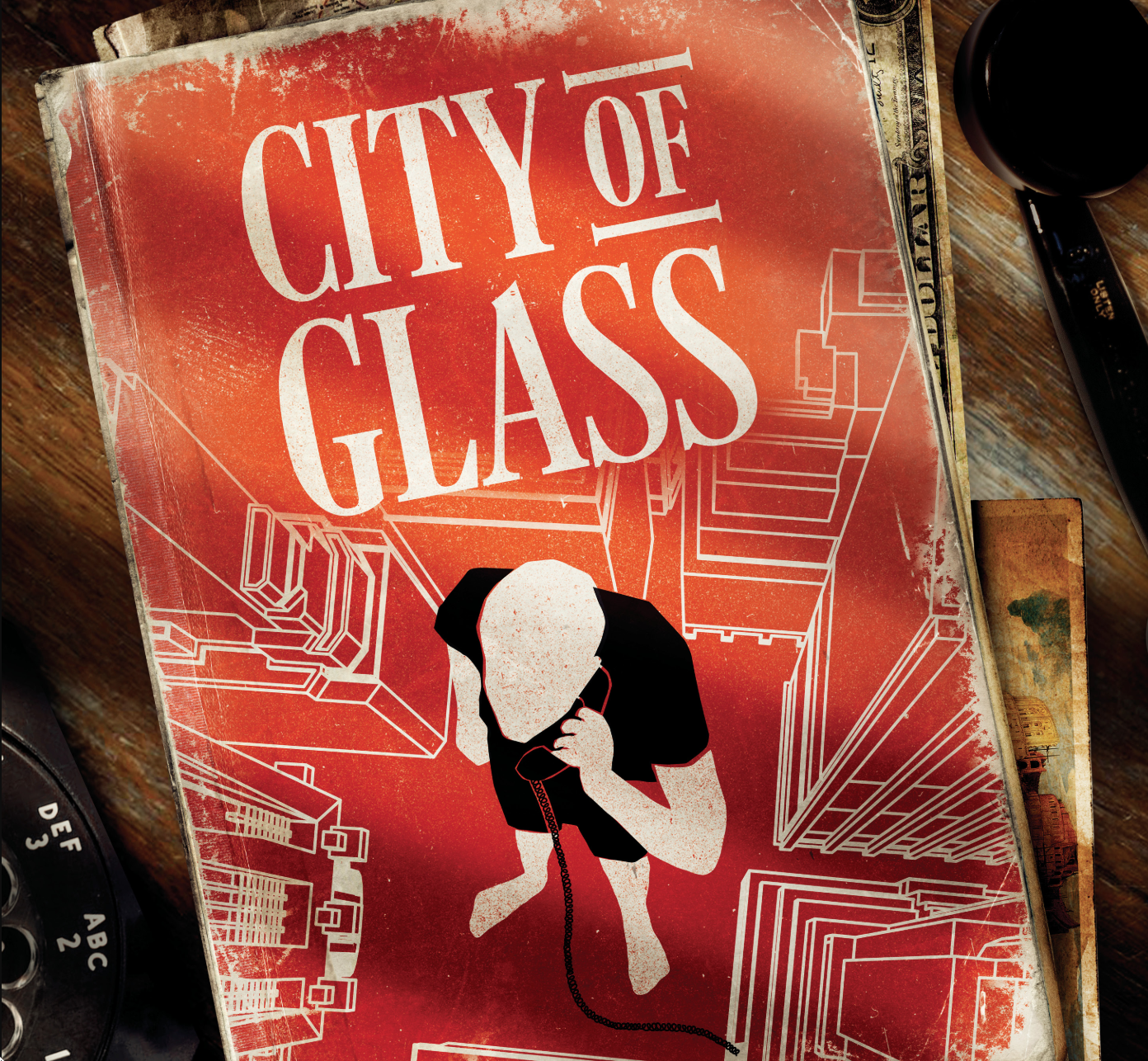 Paul Auster City of Glass Book Cover