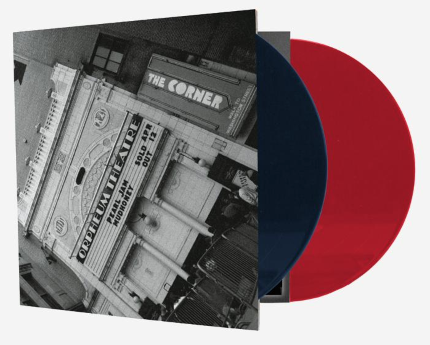 Pearl-Jam-Live-at-The-Orpheum-Exclusive-Vinyl Newport Comics Red Sox Fenway Blue Red Variant