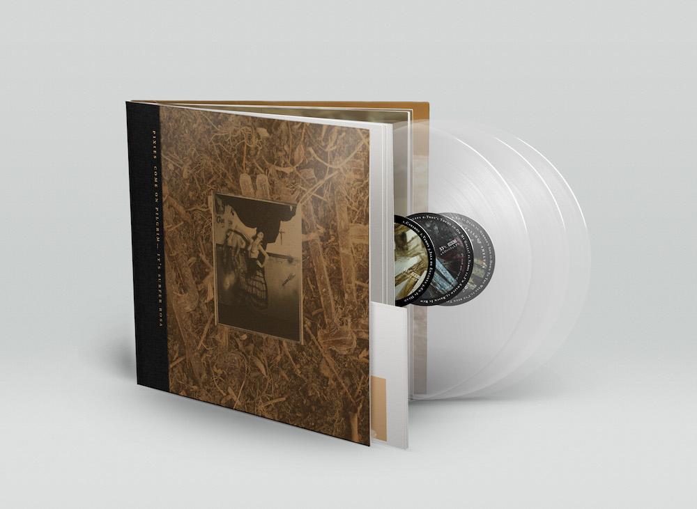 pixies cop sr deluxe vinyl package hi Pixies announce 30th anniversary Come On Pilgrim... Its Surfer Rosa box set