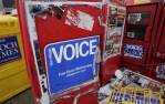 RIP Village Voice Dead Shut Down Ending