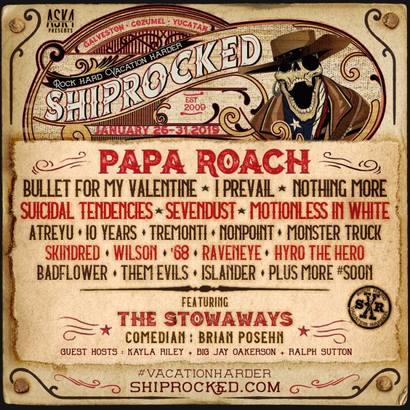 ShipRocked 2019 Poster
