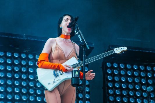 St. Vincent, Osheaga 2018, photo by Lior Phillips