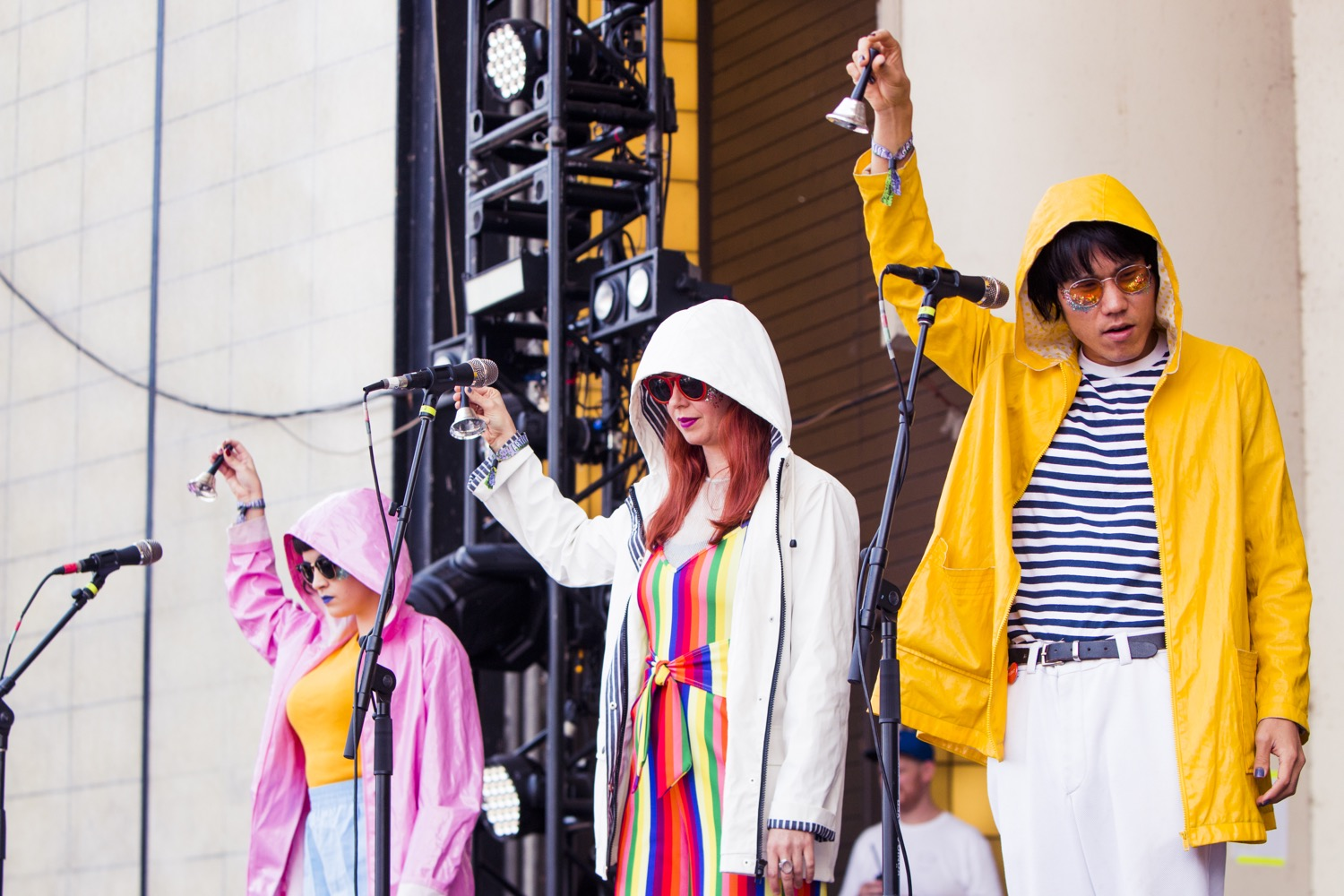 Superorganism, Lollapalooza 2018, photo by Caroline Daniel