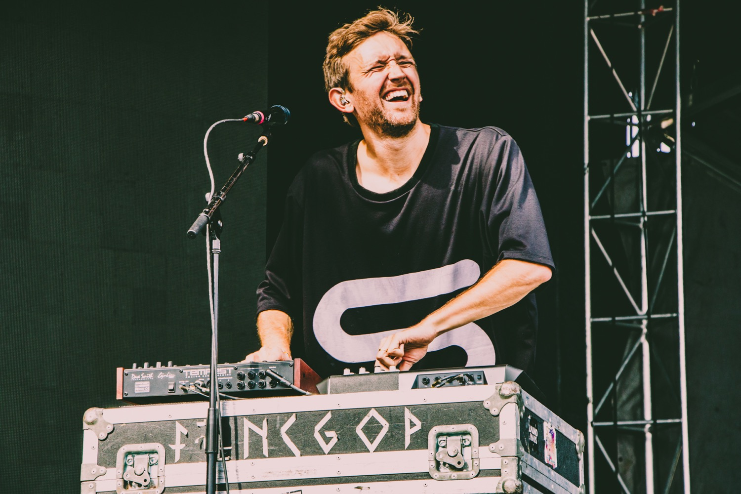 Sylvan Esso, Osheaga 2018, photo by Lior Phillips