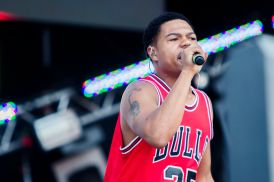 Taylor Bennett, Lollapalooza 2018, photo by Caroline Daniel