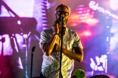 The National, Osheaga 2018, photo by Lior Phillips