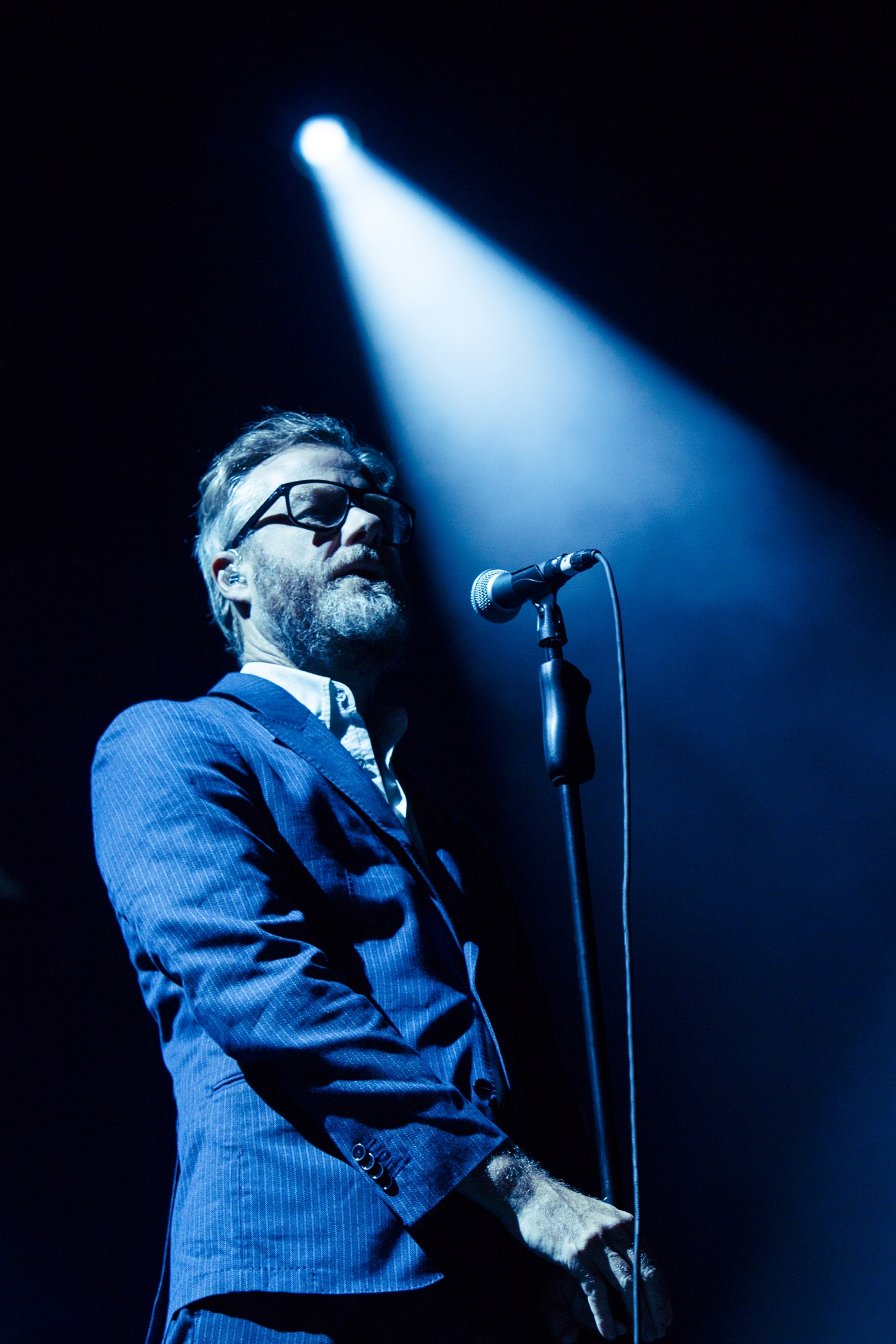 The National, Lollapalooza 2018, photo by Caroline Daniel