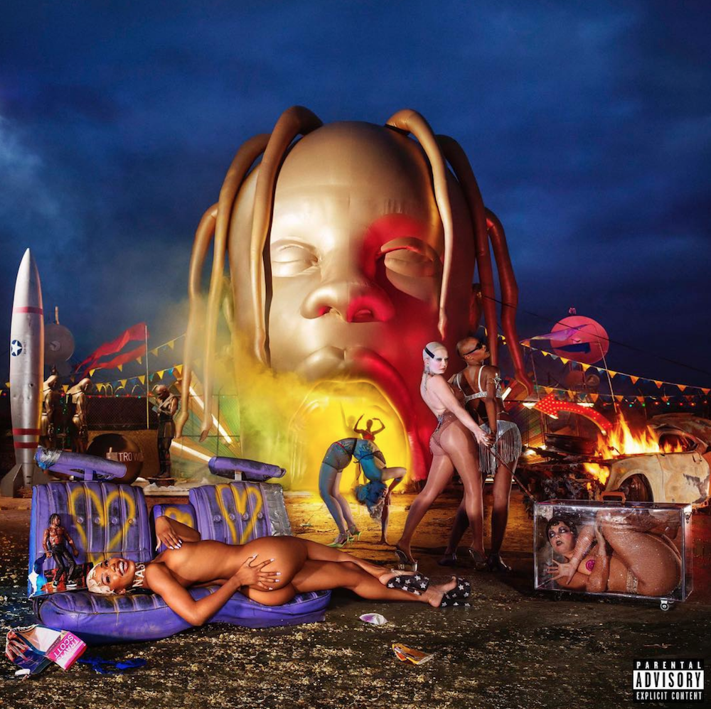 travis scott astroworld album cover stream Travis Scott premieres new album Astroworld: Stream