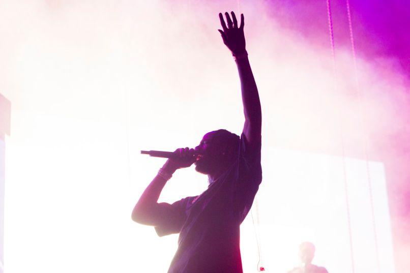Travis Scott, Lollapalooza 2018, photo by Caroline Daniel