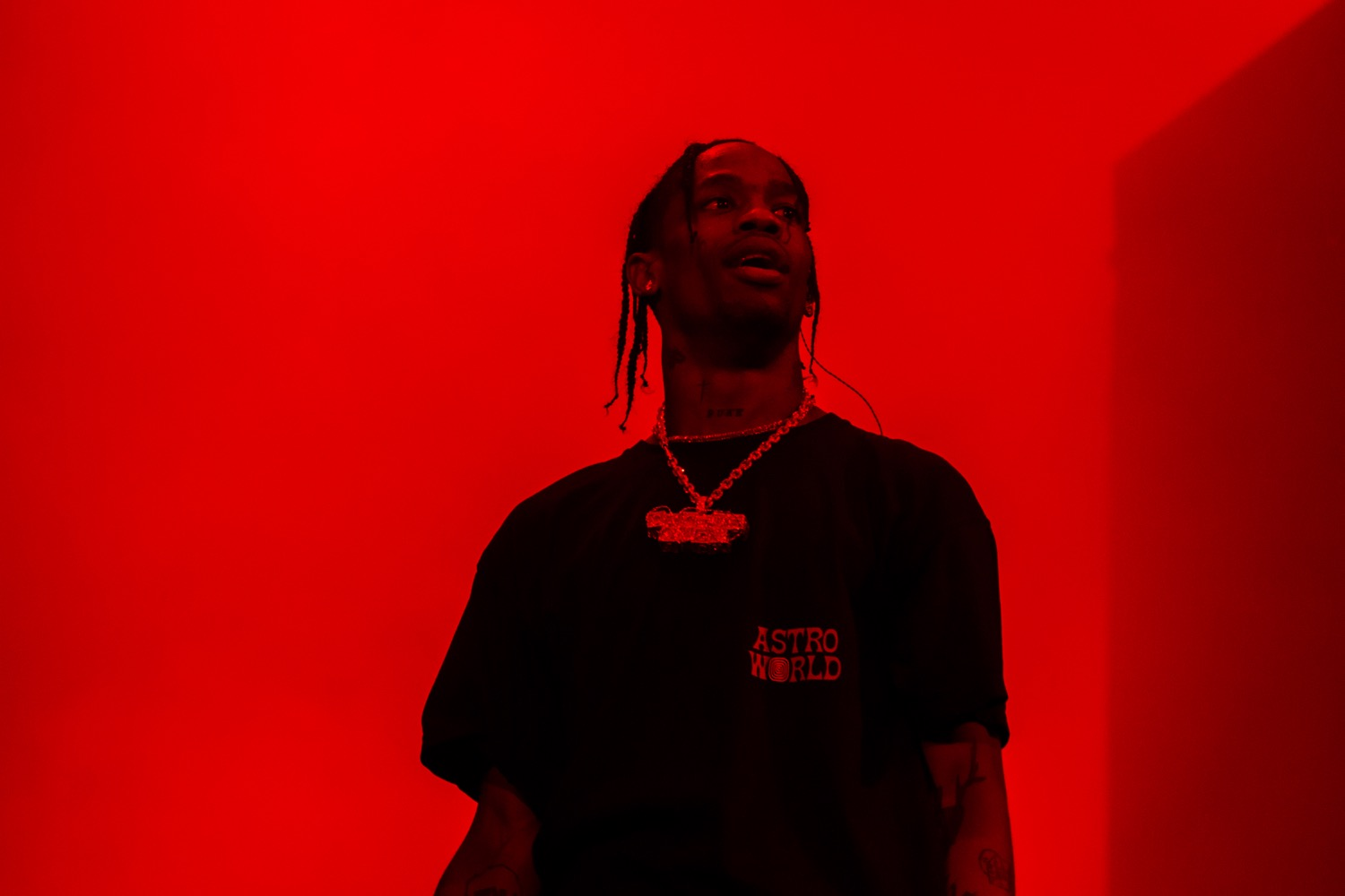 Travis Scott, Lollapalooza 2018, photo by Caroline Daniel