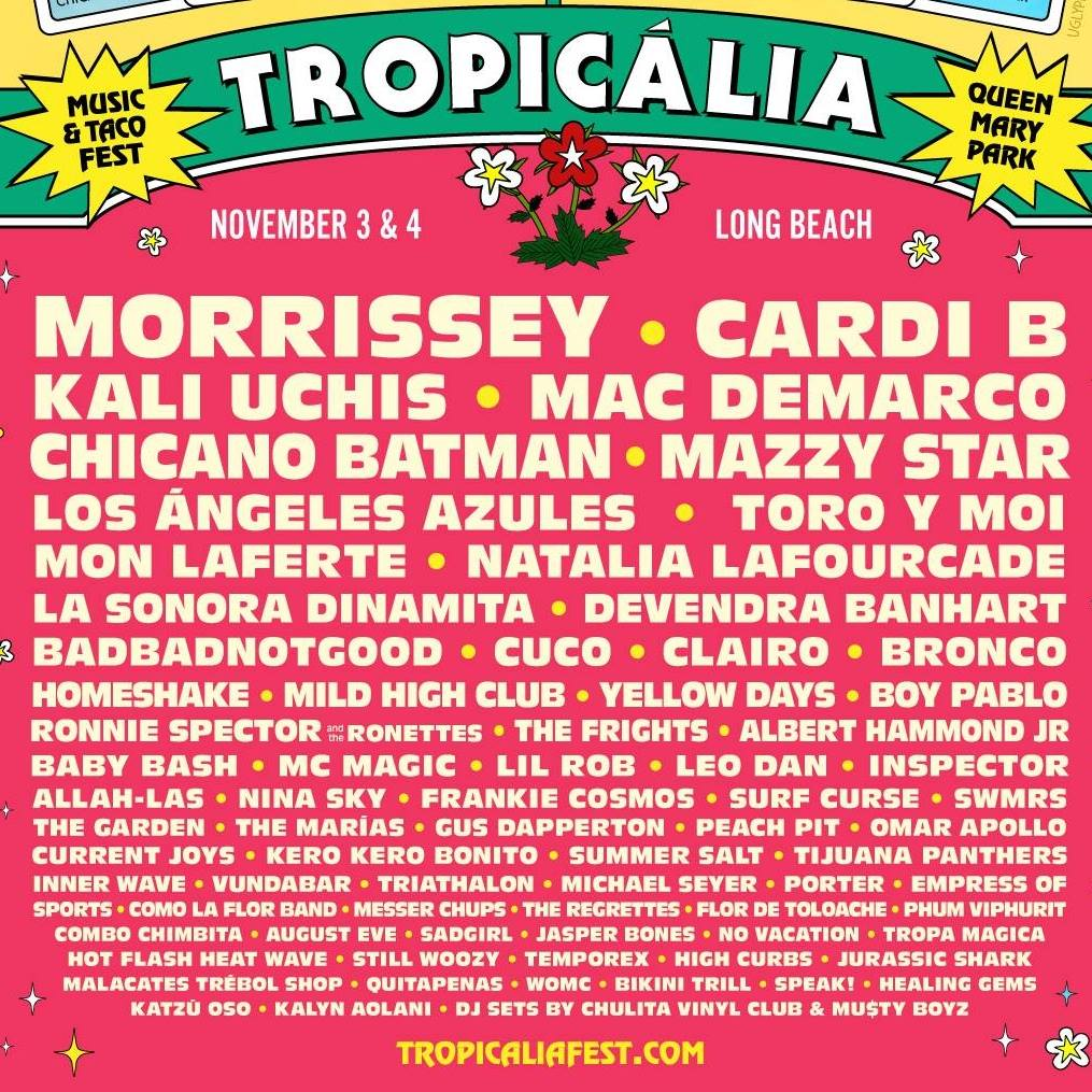 Tropicala Fest 2018 lineup