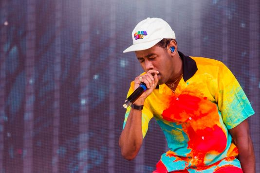 Tyler, the Creator, Lollapalooza 2018, photo by Caroline Daniel