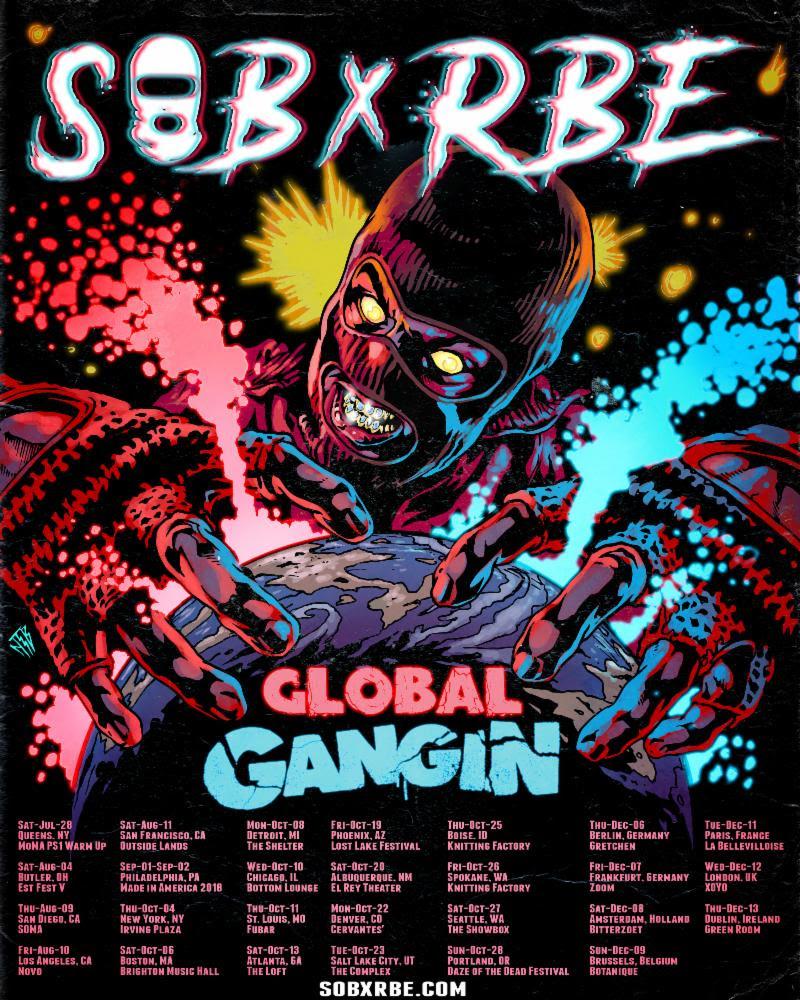 SOB x RBE 2018 Tour Dates
