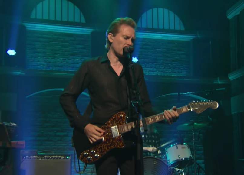 "Video Franz Ferdinand ""Lazy Boy"" Seth Meyers"