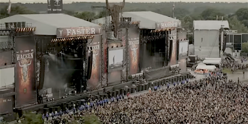 Wacken Festival crowd