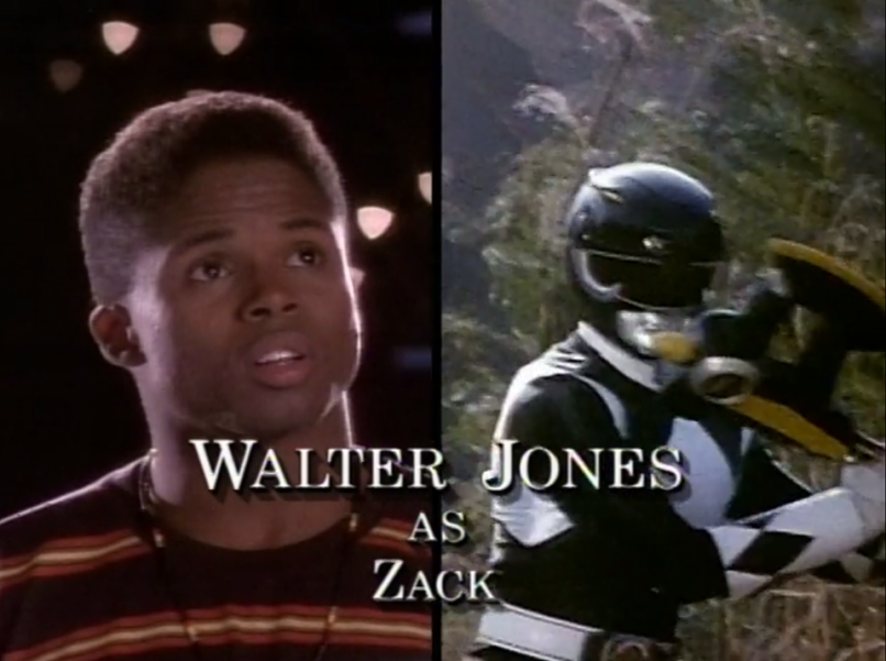 Walter Jones - Black Ranger
