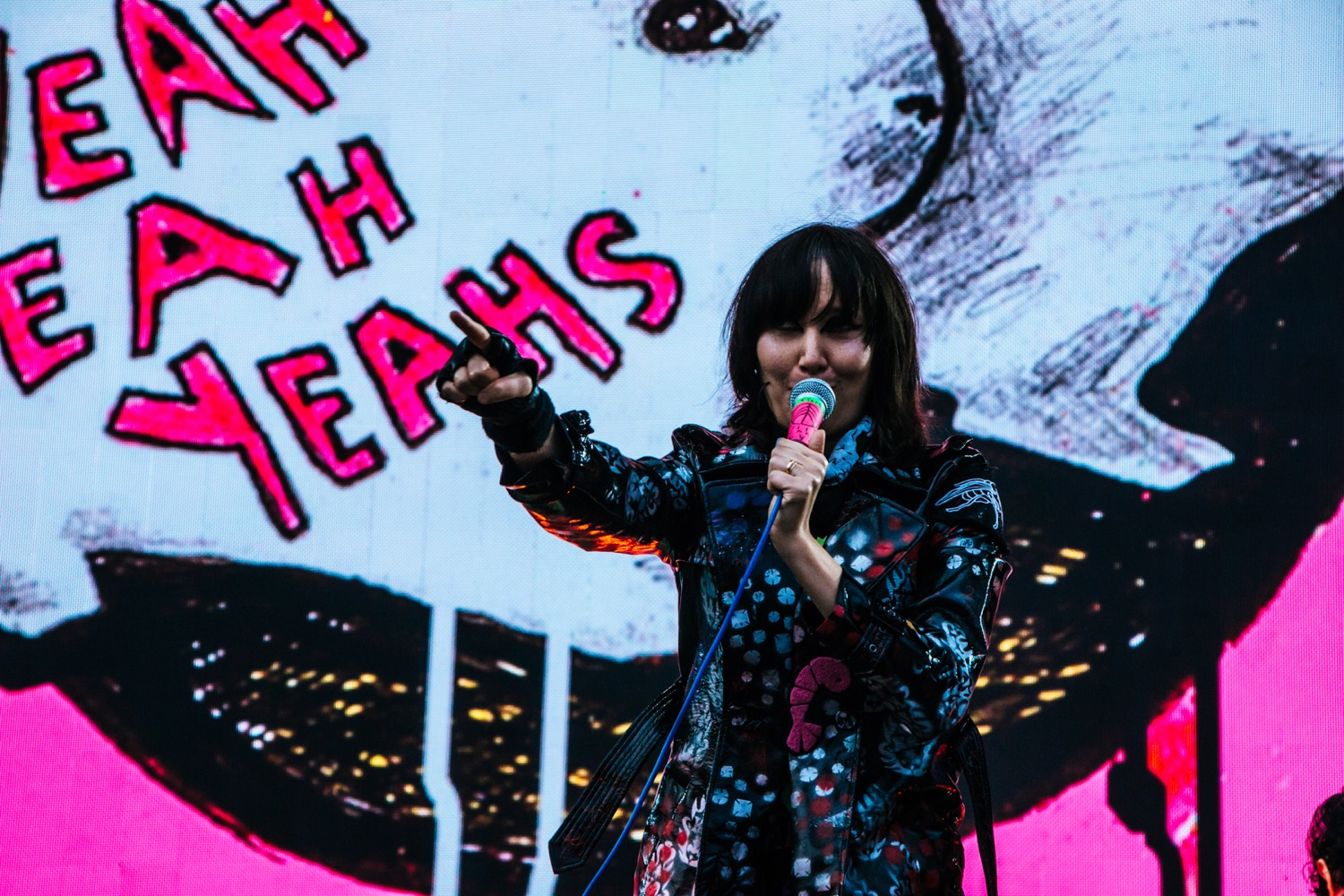 Yeah Yeah Yeahs, Osheaga 2018, photo by Lior Phillips