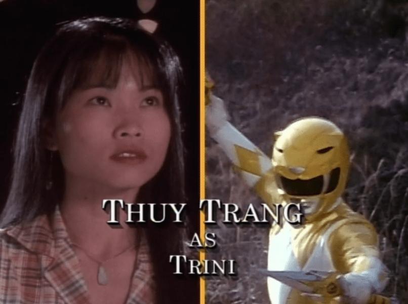 Thuy Trang - Yellow Ranger