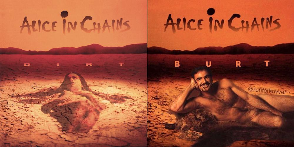 Alice in Chains Dirt / Burt