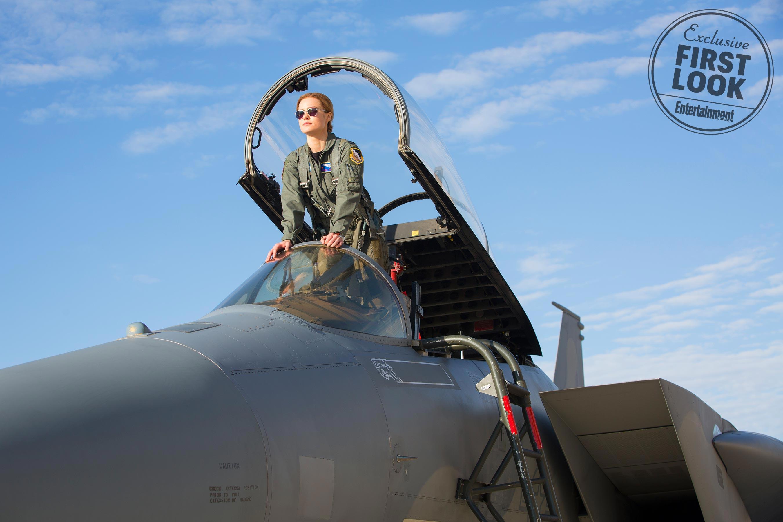 Marvel Studios' CAPTAIN MARVELCarol Danvers/Captain Marvel (Brie Larson) Jet plane pilot