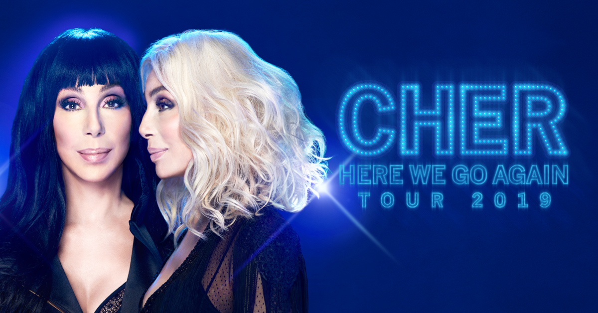 Cher's Here We Go Again Tour 2019 ABBA