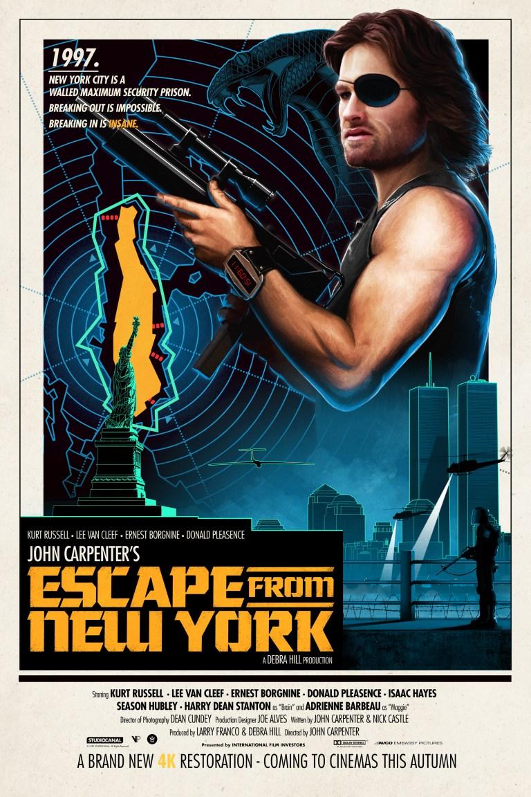 escape from new york 4k restoriation artwork