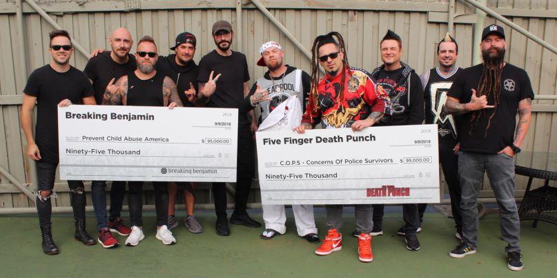 Breaking Benjamin and Five Finger Death Punch