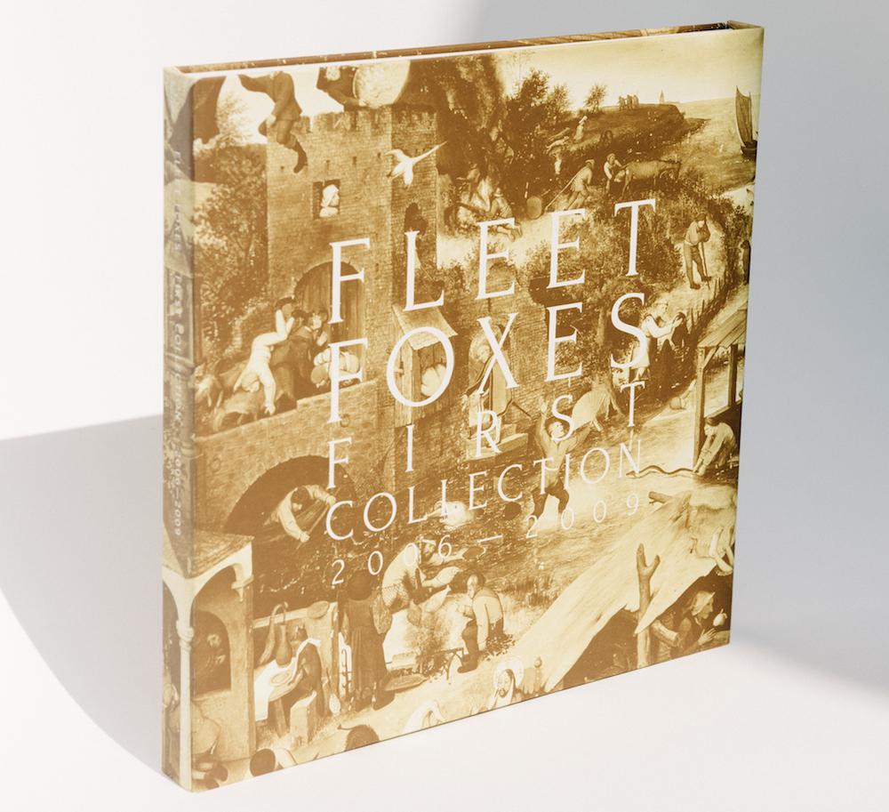 fleet foxes first collection 2006 2009 box set artwork vinyl cover art1 Fleet Foxes announce First Collection 2006 2009 vinyl box set