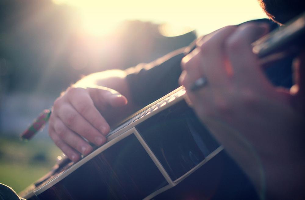 Guitar Meditation be A Give Man Live Origins