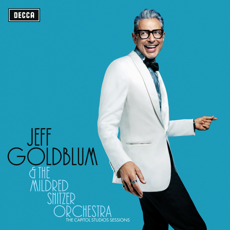 Jeff Goldblum the Mildred Snitzer Orchestra New Album The Capitol Studios Sessions album cover art