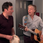 Jimmy Fallon Paul McCartney The Tonight Show Come on to Me Fans elevator
