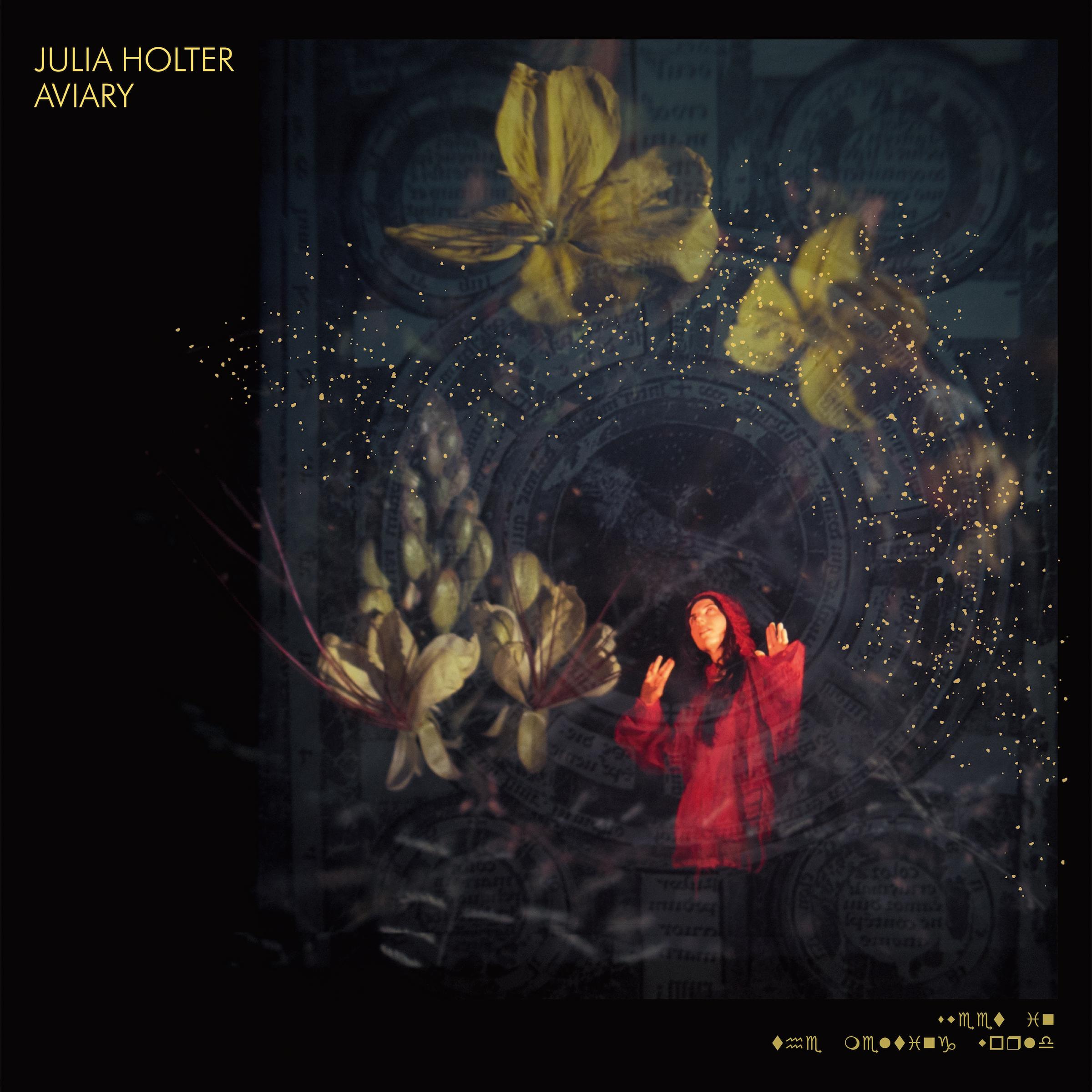 Julia Holter Aviary Album Cover Artwork