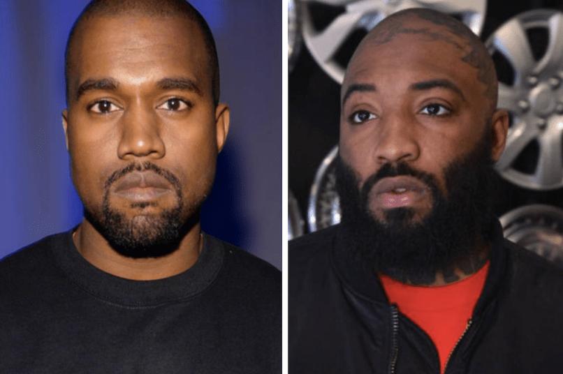 Kanye West supports ASAP Bari