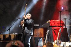 Elvis Costello, Riot Fest 2018, photo by Heather Kaplan
