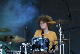 Calpurnia, Riot Fest 2018, photo by Heather Kaplan