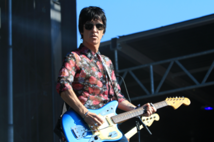 Johnny Marr, Riot Fest 2018, photo by Heather Kaplan